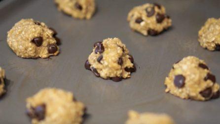 Biscotti ai cereali con 3 ingredienti: uno tira l'altro