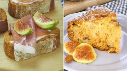 3 ricette con uva e fichi che vi faranno venire l'acquolina in bocca!