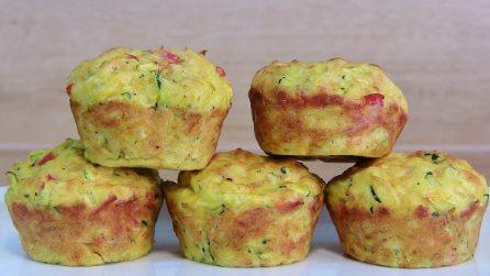 Muffin di zucchine: soffici, saporiti e pronti in pochi minuti