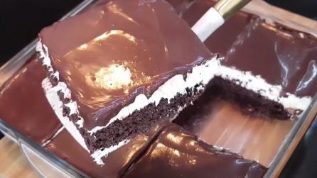 Torta cioccolato e panna: il consiglio per averla super soffice