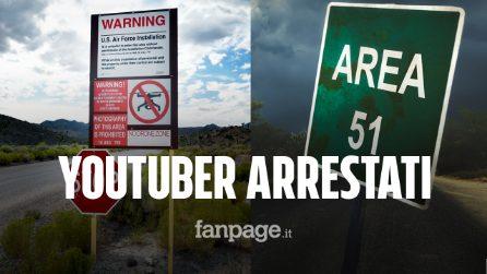 Entrano nell'Area 51, arrestati due giovani Youtuber: ecco cosa stavano facendo