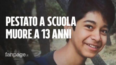 Picchiato dai bulli che lo tormentavano ogni giorno: Diego batte la testa e muore a scuola a 13 anni