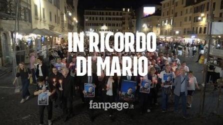 """Fiaccolata in ricordo di Mario Cerciello Rega: """"Morto da eroe, una vita votata agli altri"""""""