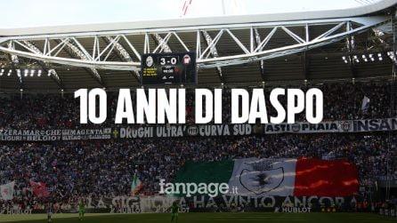 Ricatti alla Juventus, Daspo di 10 anni per 38 ultrà: è la prima volta nel mondo del calcio italiano