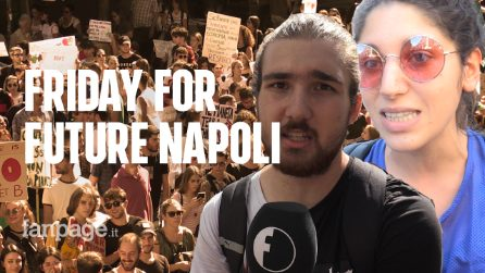 """Friday For Future: A Napoli in 100mila per il clima e la Terra dei Fuochi. """"Nostra terra avvelenata"""""""
