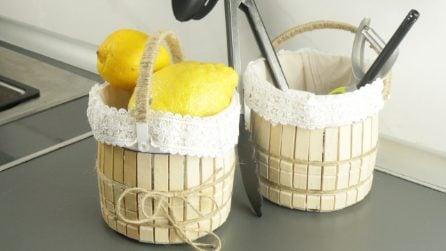 Come riciclare le mollette di legno in modo geniale!