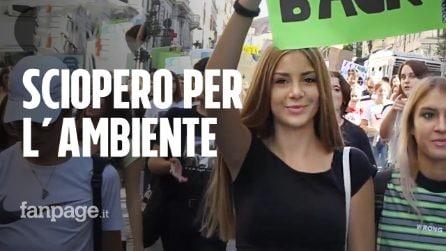 """Global Strike for Climate, manifestanti da Roma, Milano, Napoli: """"Basta plastica, salviamo il mondo"""""""