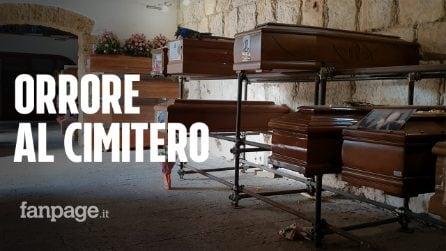 """Palermo, al Cimitero dei Rotoli è emergenza senza fine: """"È la vergogna del mondo"""""""