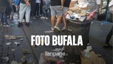 Fridays For Future: la foto del cestino pieno di rifiuti è una bufala, ecco perchè