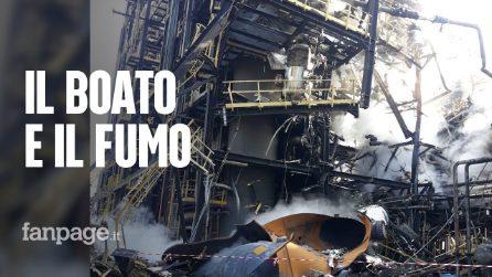 """Esplosione raffineria Eni di Pavia, boato e fumo nero: """"Sembrava venisse giù la casa"""""""