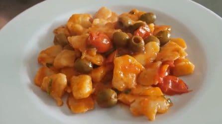 Pizzicotti con pomodorini e olive: la ricetta genuina e deliziosa