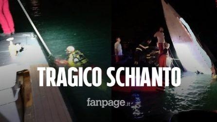 Tragedia a Venezia, barca si schianta sulla diga: tre morti, tra loro il campione Fabio Buzzi