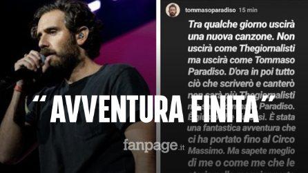 """I """"TheGiornalisti"""" si sono sciolti, Marco 'Rissa' Musella: """"Ci hanno tolto le password Instagram"""""""