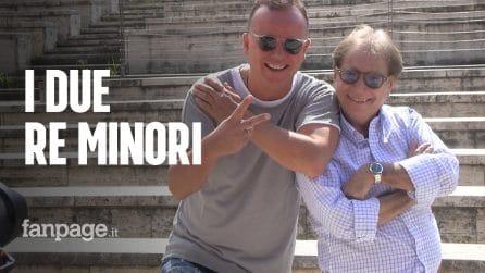"""Gigi D'Angelo e Nino D'Alessio Figli di un Re Minore: """"Abbiamo litigato, ma per costruire"""""""