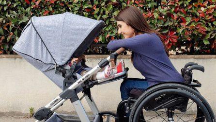 Una rara malattia genetica la costringe in sedia a rotelle ma lei riesce a superare ogni difficoltà