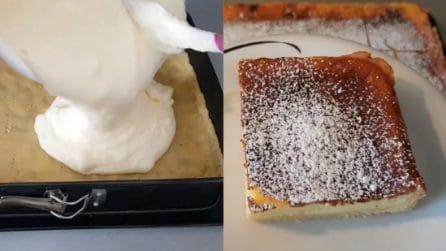 Torta al formaggio con base di pasta brisée: cremosa e buonissima