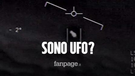 """UFO, la Marina militare conferma: """"Questi video mostrano velivoli non identificati"""""""