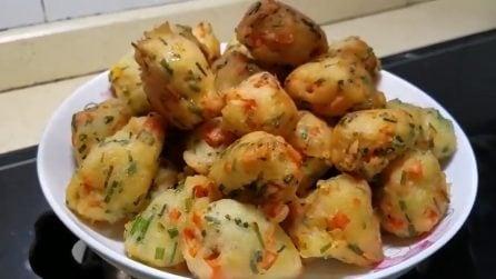 Frittelle di verdure: buone, croccanti e veloci