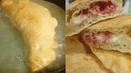 Calzoni fritti e ripieni: la ricetta per averli davvero gustosi