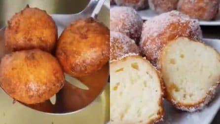 Frittelle dolci al formaggio: resistere al loro gusto sarà impossibile