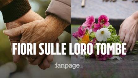 """Marito e moglie sono ancora vivi e portano fiori sulle loro tombe: """"Quando moriremo chi lo farà?"""""""