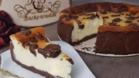 "Crostata cheesecake ""maculata"": bella e golosissima"