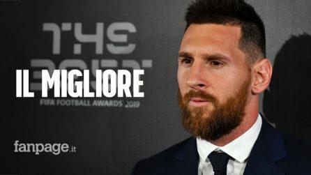 Leo Messi ha vinto il The Best Fifa Football Awards 2019: battuto il favorito van Dijk