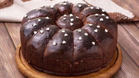 Chocolate brioche: fluffy and super delicious!