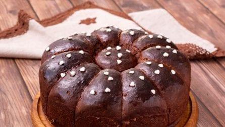 Danubio al cioccolato: il dolce goloso che andrà a ruba!