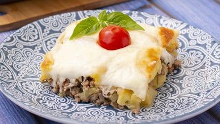 Torta di carne e patate: una ricetta facile per un secondo pieno di sapore!