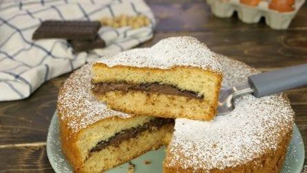 Torta soffice con doppia cottura: il segreto per mantenere morbida la crema all'interno!