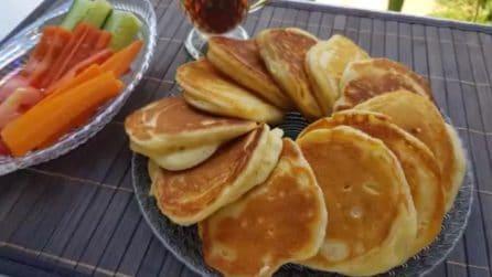 La ricetta per preparare soffici e gustosi pancakes