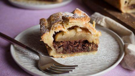 Torta di mele e frutta secca: un'alternativa golosa alla solita torta di mele!