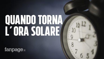 Quando torna l'ora solare e perché potrebbe essere l'ultima volta in Italia