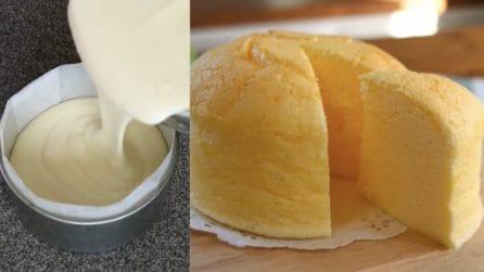 Cheesecake giapponese: così soffice e buona non l'avete mai assaggiata