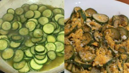 Zucchine alla poverella con uova: la versione barese che vi farà impazzire