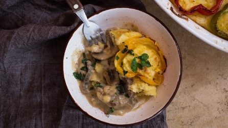 Sformato di patate, carne e funghi: il piatto autunnale che conquisterà i vostri ospiti!