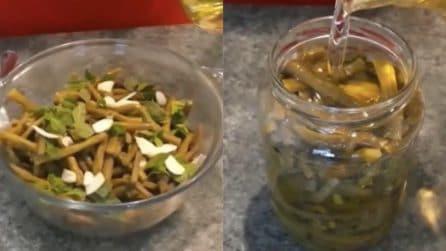 Fagiolini sott'olio: la ricetta per preparare un contorno molto saporito