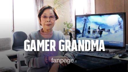 Ecco la nonna youtuber di 89 anni: è appassionata di videogiochi