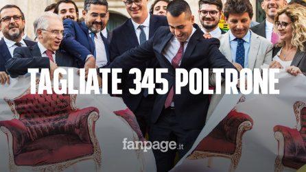 Il taglio dei parlamentari è legge, 345 eletti vanno a casa: quanto risparmierà davvero lo Stato