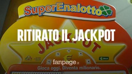 Superenalotto: ritirato il jackpot record da 209 milioni di euro vinto a Lodi