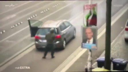 Germania, uomo spara davanti alla sinagoga di Halle: due morti
