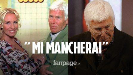 """Morto Beppe Bigazzi, il ricordo di Antonella Clerici: """"Burbero dal cuore tenero, mi mancherai"""""""