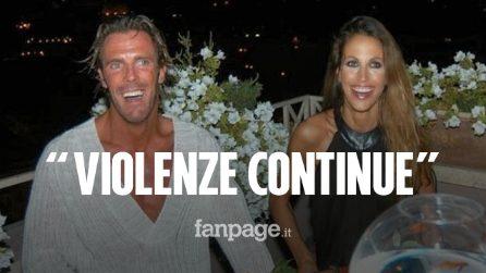 """L'ex moglie di Mario Cipollini: """"Violenze continue, mi puntò una pistola carica alla testa"""""""