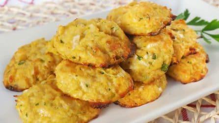 Frittelle di cavolfiore al forno: leggere e deliziose