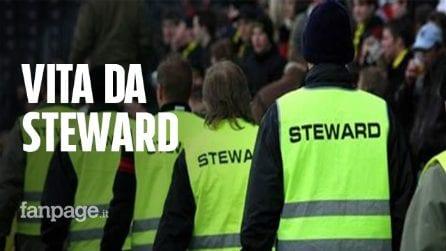 """Vita da steward allo stadio: """"Lavoriamo duro e rischiamo di essere picchiati. Tutto per 3 euro l'ora"""""""