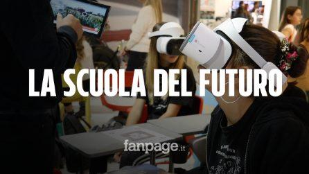 La scuola del futuro? Con la realtà virtuale tra i banchi