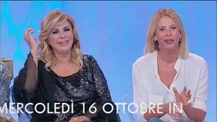 """Uomini e Donne trono classico, ospite Alessia Marcuzzi: """"Cercasi amante"""""""