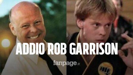È morto Rob Garrison, l'attore di Karate Kid aveva 59 anni