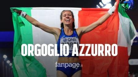Mondiali di atletica, Eleonora Giorgi vince la medaglia di bronzo nella 50 km marcia